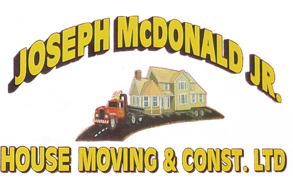 Joseph McDonald Jr House Moving & Construction Ltd